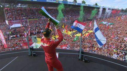 GP de Italia F1 2019: Charles Leclerc rey de reyes en el templo de Monza