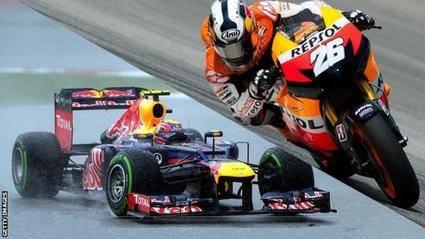Comparativo MotoGP (Silverstone) y Fórmula 1 (Monza)