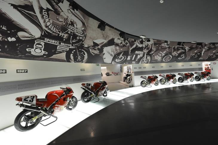 El nuevo Museo Ducati abre sus puertas