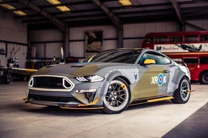 Ford Mustang Eagle Squadron, homenaje a la Real Fuerza Aérea