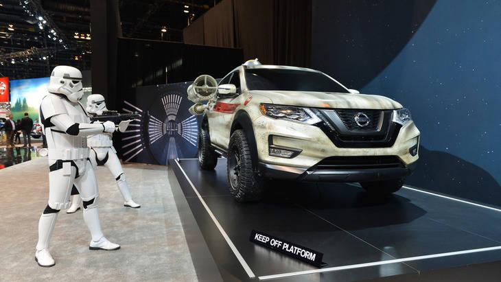 Nissan Rogue, propio de la Guerra de las Galaxias