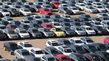 Las ventas de coches se desploman