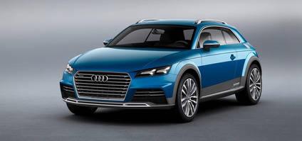 Nuevas imágenes: Audi TT Crossover