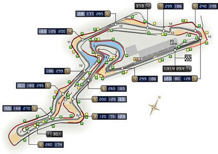 GP de Eifel F1 2020: Horarios y neumáticos