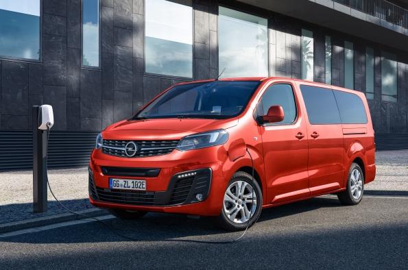 Zafira-e Life buque insignia de Opel