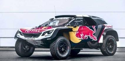 Peugeot 3008 DKR Maxi par el Dakar 2018