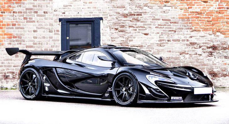 Sale a subasta un McLaren P1 GTR