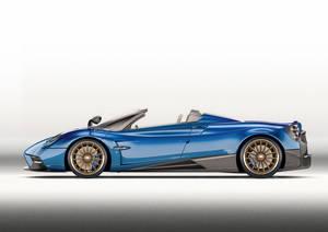 Pagani lanza el Huayra Roadster