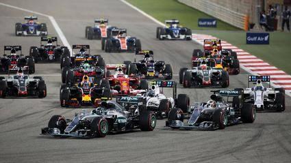 Calendario provisional para la F1 en 2018