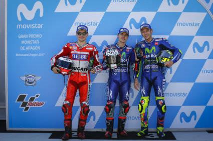 Viñales, Lorenzo y Rossi dan la campanada
