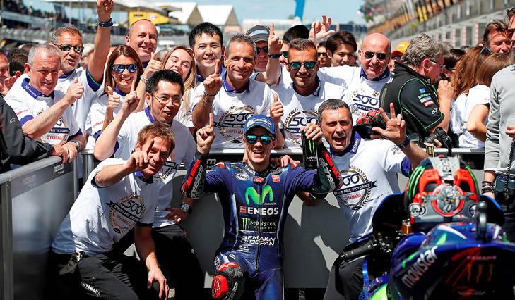 Viñales: victoria, récord y líder en MotoGP