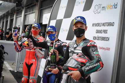 Pole para Maverick Viñales en el Red Bull Ring