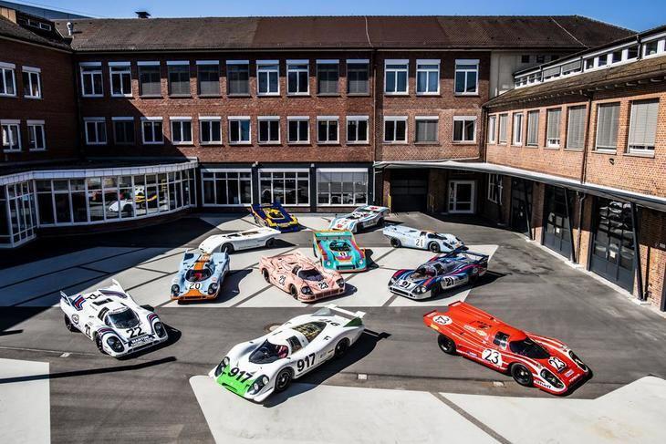 '50 años del Porsche 917: Los colores de la Velocidad'