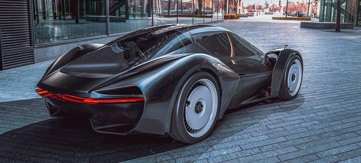 Porsche Exclusive GT un prototipo de cuatro plazas