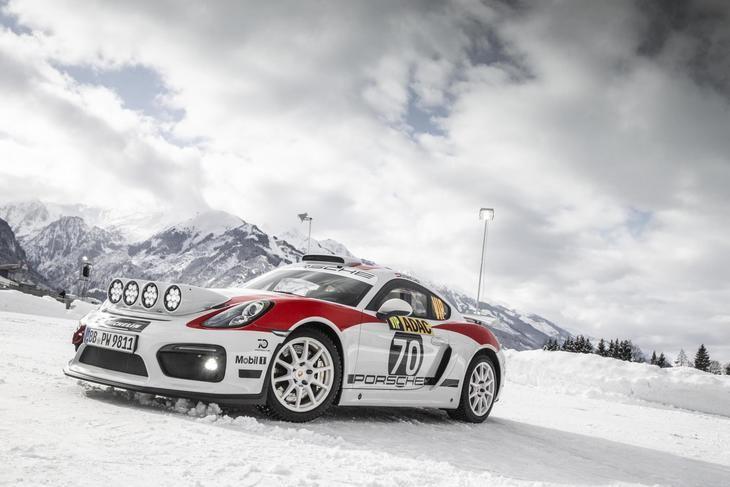 El Porsche Cayman GT4 Rallye