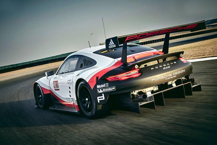 Nuevo Porsche 911 RSR nacido para las 24 horas de Le Mans