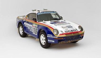 Porsche 959 una leyenda del mundo de los Rallyes
