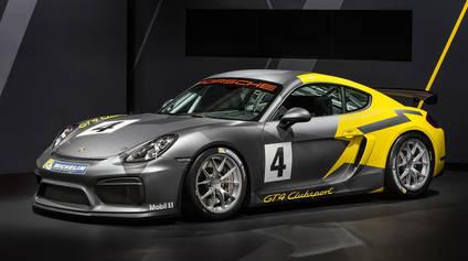 Nuevo Porsche Cayman GT4 Clubsport