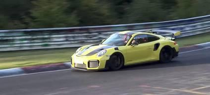 Porsche 911 GT2 RS por debajo de los 7 minutos en Nurburgring