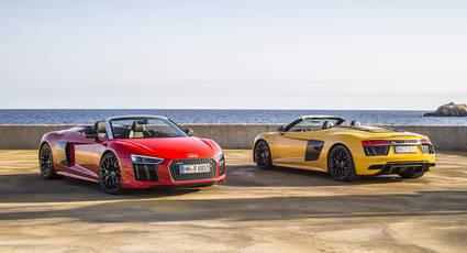 Audi R8 Spyder, sensaciones a cielo descubierto