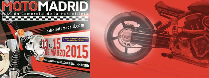 MotoMadrid: del 13 al 15 de marzo