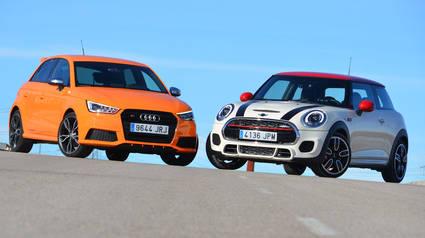Audi S1 vs Mini JCW: Pequeños, pero matones
