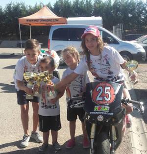 4� prueba clasificatoria del campeonato de Espa�a de minivelocidad.