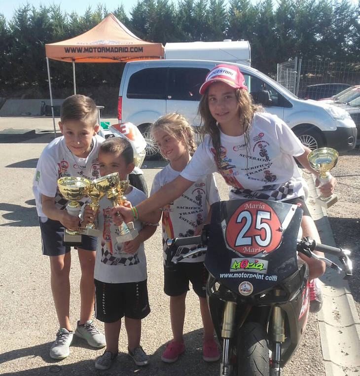 4º prueba clasificatoria del campeonato de España de minivelocidad.