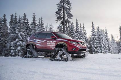 Nissan presenta su nuevo veh�culo para la nieve