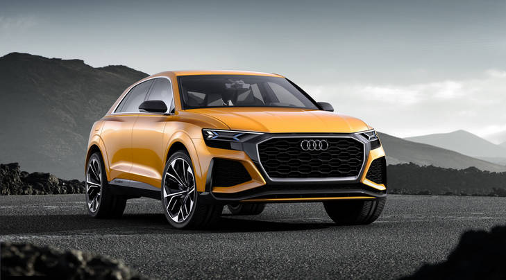Audi Q8 concept, el SUV Coupe de la firma alemana