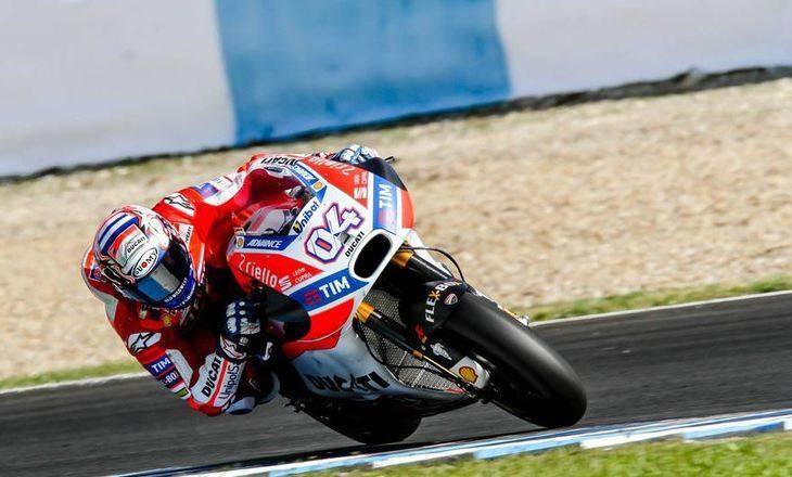 El Italiano Andrea Dovizioso bate el timpo de vuelta rápida en Jerez por una MotoGP