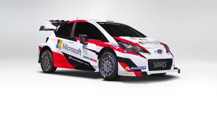 Toyota muestra su nueva arma para el WRC 2017