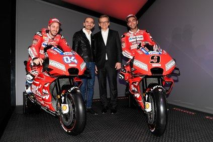 Se presentó el equipo Mission Winnow Ducati 2019