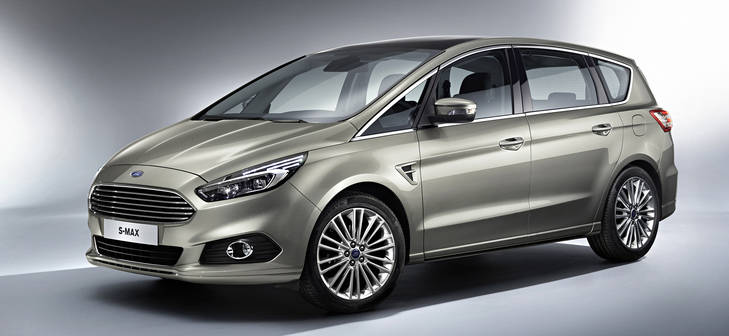 Presentación Ford S-Max 2015: desde 31.900€