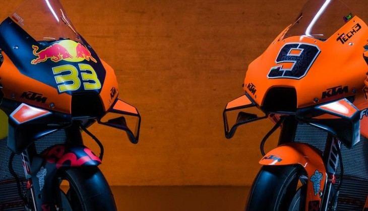 KTM muestra sus nuevos colores para la campaña 2021