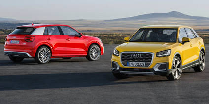 Primera prueba del Audi Q2