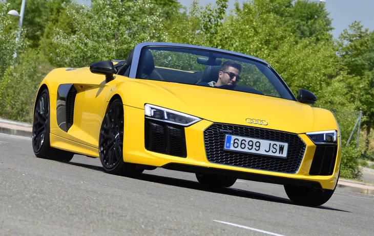 Prueba Audi R8 Spyder, 540CV de sensaciones a cielo descubierto