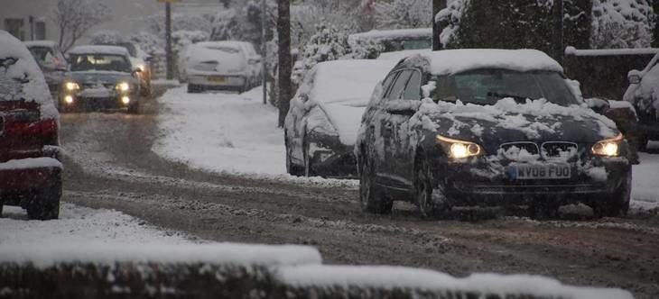Hielo y nieve, consejos para mejorar la conducción