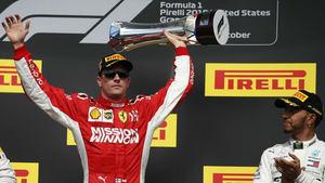 GP de EE UU de F1: Carrerón de Raikkonen y Hamilton no es campeón todavía