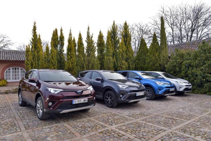Nueva gama Toyota RAV4 2018 desde 25.900 Euros