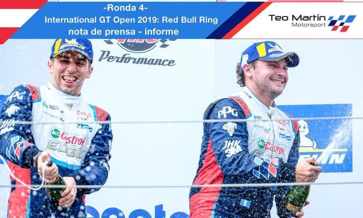Teo Martin Motorsport lider del campeonato
