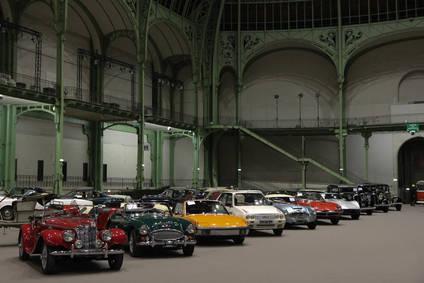 10 coches emblemáticos se subastarán en el Salón de Paris