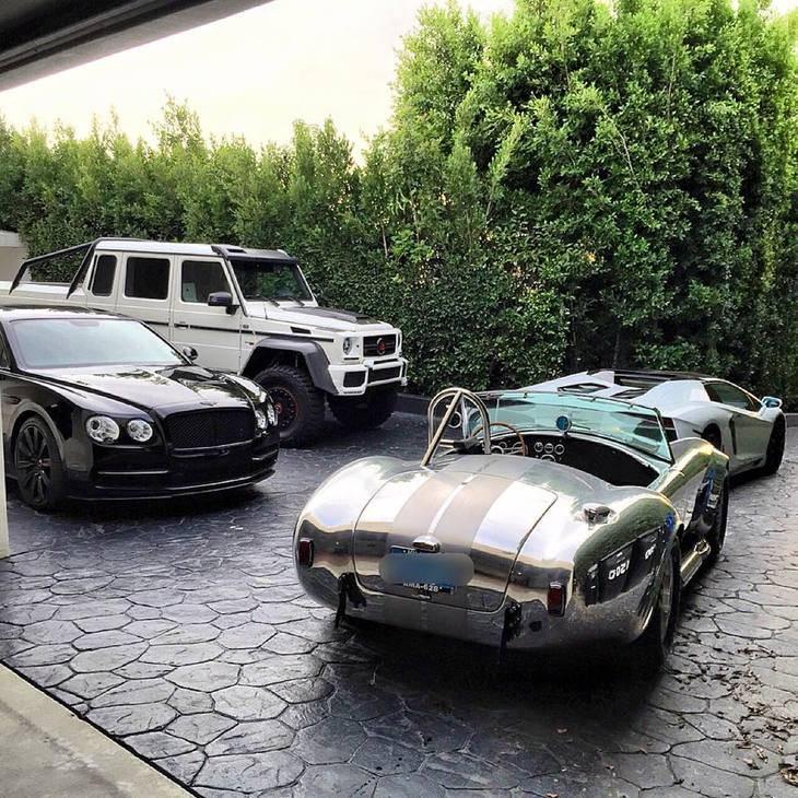Las colecciones de coches de los jugadores de póker