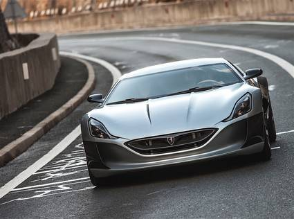 Rimac Concept contra Bugatti Veyron
