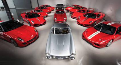 Se subastan 13 Ferraris