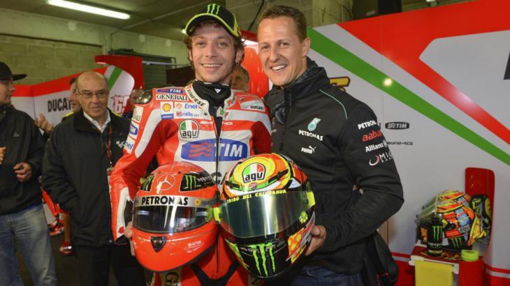 Valentino Rossi cumple 40 años