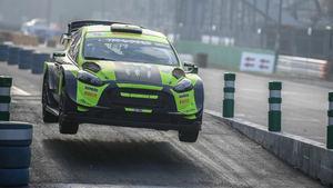 Rossi vs Sordo en el Rallye Show de Monza