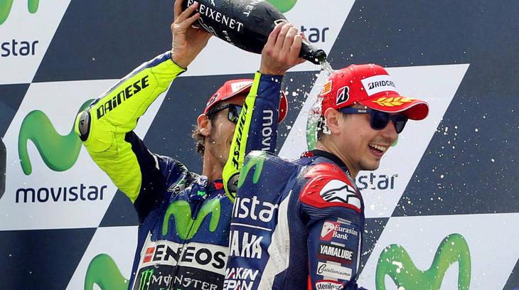 La declaraciones de Lorenzo y Rossi