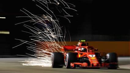 GP de Singapur F1: Raikkonen y Hamilton en 11 milésimas