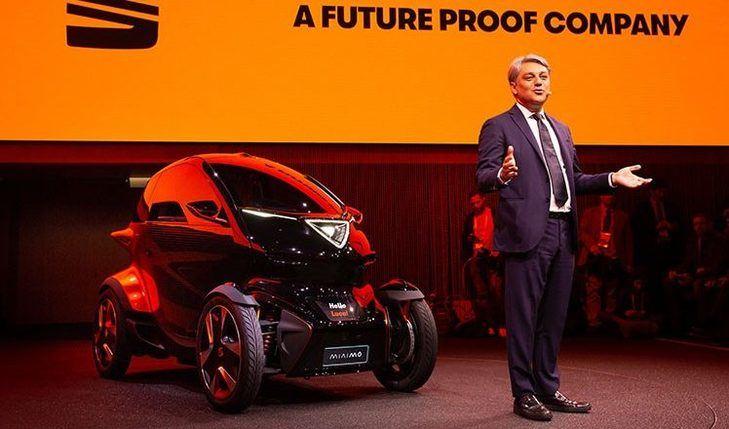 SEAT presenta en MWC su nuevo vehículo desarrollado como plataforma de movilidad urbana